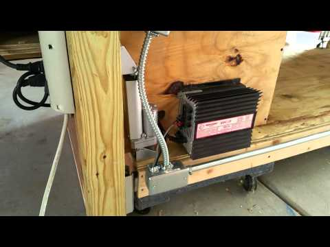 linear actuator rolling workbench and garage update - Rolling Workbench