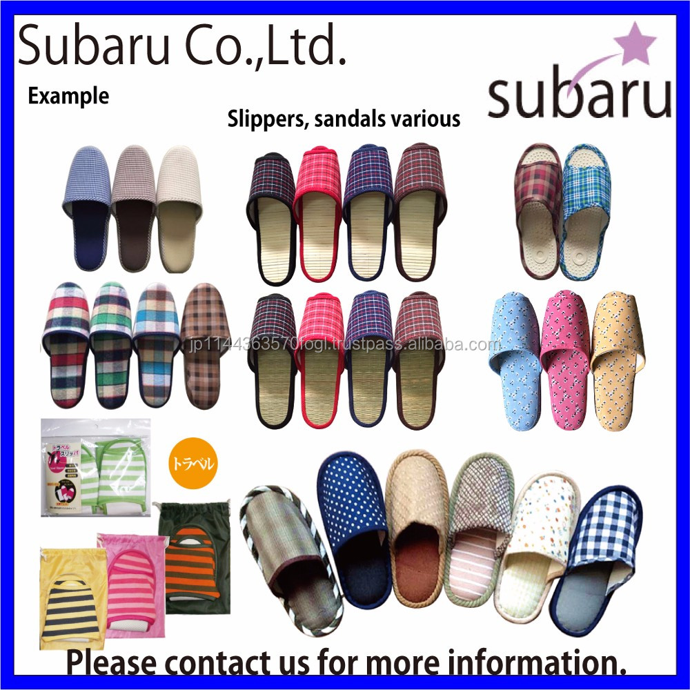 High quality and Easy to use house guest slippers sandals for household and office use , Stationery also available