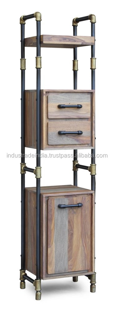 Plumbing Pipe Industrial Bookcase