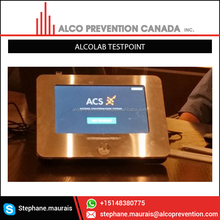 New Alcolab Testpoint Alcohol Breath Tester Vending Machine Built With Industry Leading Technology