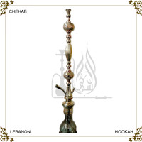 Buy United Arab Emirates brass glass shisha hookah nargile