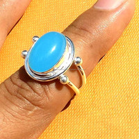 925 Silver Ring Natural Gemstone Solid