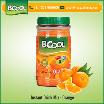 Precise Composition Highly Effective Orange Flavor Instant Drink Powder