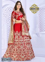 muslim wedding gown lehenga muslim bridal wedding dress/heavy lehenga choli/indian wedding lehenga
