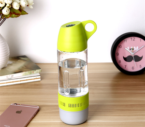 high quality water bottle cup waterproof wireless bluetooth speakers for android & iOS mobile phones