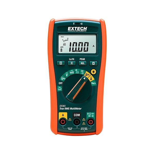 Extech EX365-NIST, 10 Function True RMS Multimeter with NIST Certificate