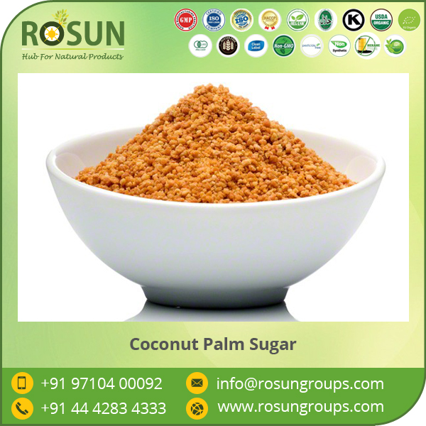 HACCP Certified Organic Coconut Palm Sugar