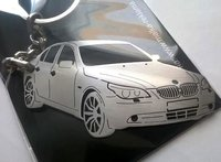 BMW custom key chain / stainless steel key ring for BMW