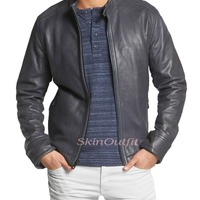 Men S Sheep Leather Jackets
