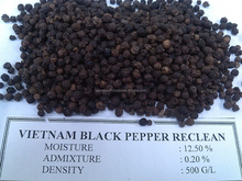Vietnam Black Pepper 500GL Clean