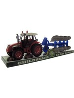 Friction Farm Tractor Truck and Trailer Set #OC772