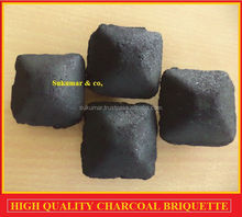 Best Quality BBQ Pillow shaped Coconut shell Char briquettes for grill