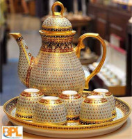 Thai Benjarong Tea Pot