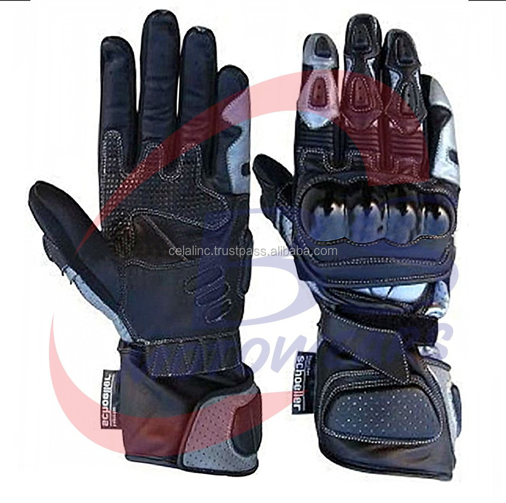 Motorbike Leather Gloves/ Motorcycle Racing Gloves/ Biker Leather Gloves