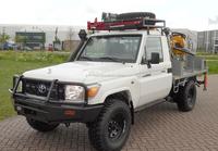 B/NEW - TOYOTA LAND CRUISER HZJ79L 4X4 DRILLING RIG (LHD 821325)