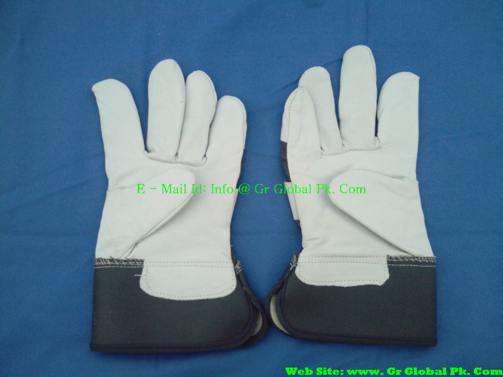 Cow split leather welding gloves for high-risk industry COW Leather working gloves