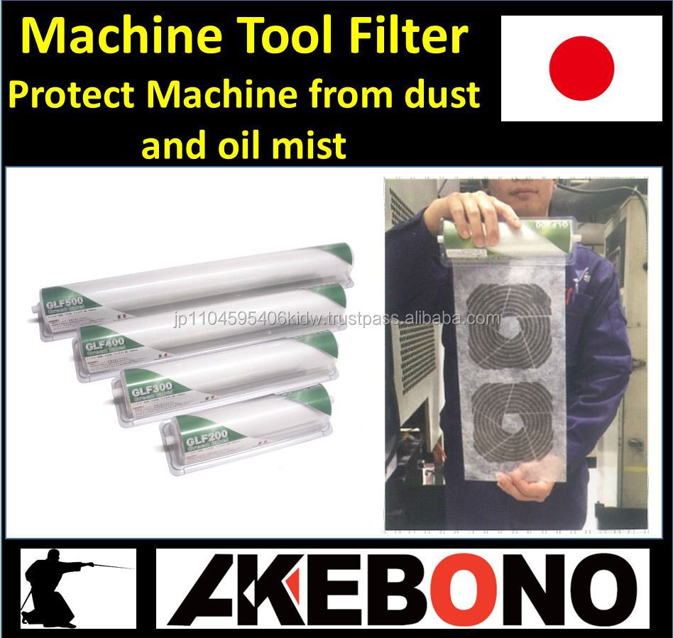 Easy to use metal cutting machine oil mist filter with non flame material