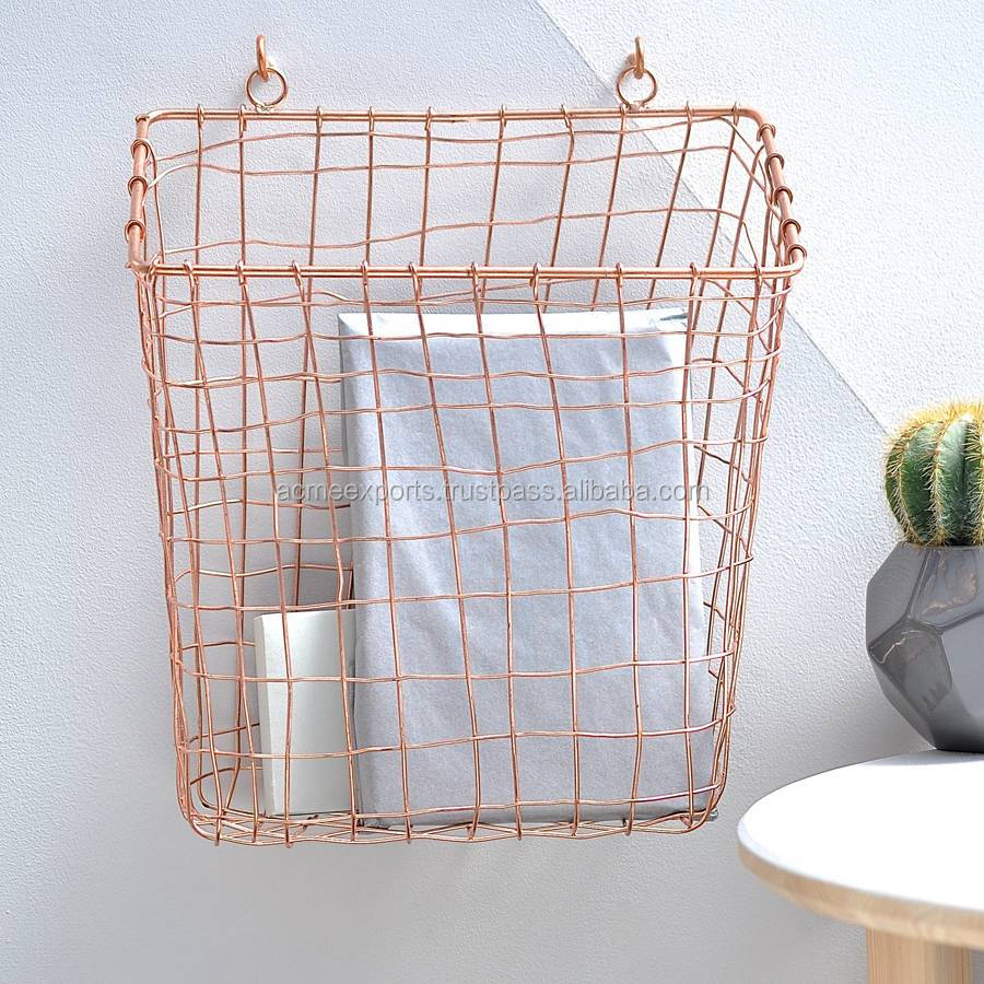Storage Basket With Wall hanging