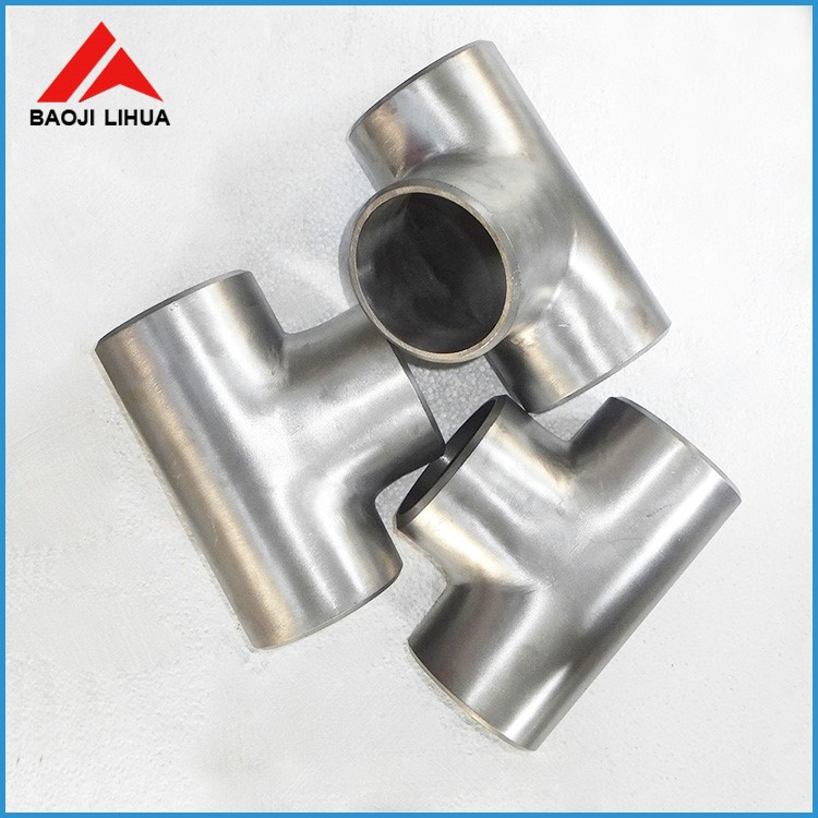 Hot sale titanium gr2 pipe t-branch pipe