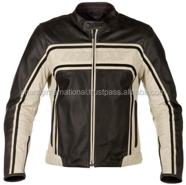 fashion mens real leather jacket hot sale sexy leather jacket OEM