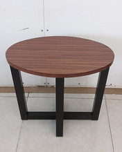 Wooden Oval End Table From Vietnam