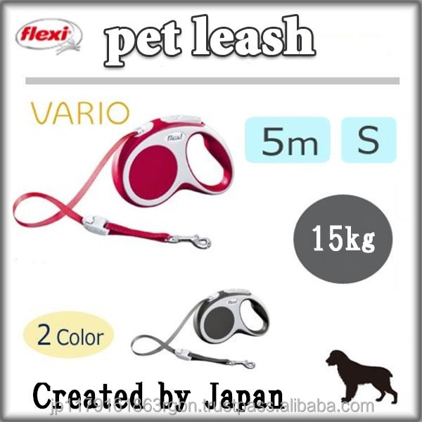 Fashionable and Durable running dog leash for small and medium size dogs created by Japan