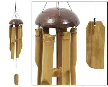 BAMBOO NATURAL WINDCHIME COCO TOP