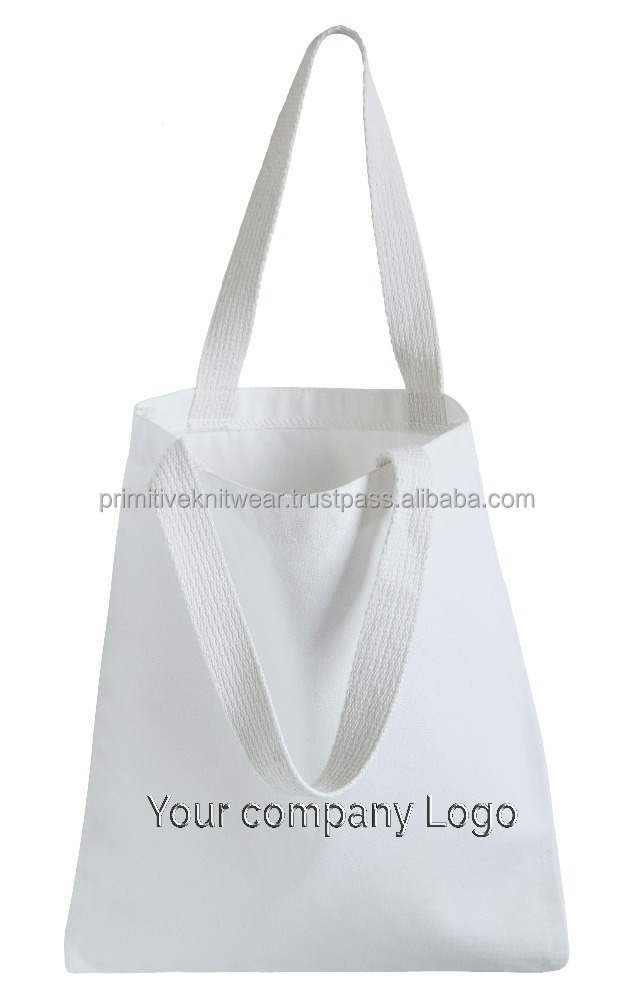 100% organic cotton tote bag for wholesale