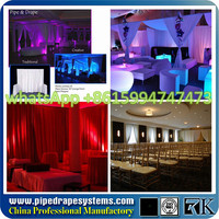 Pipe drape mandap round | free standing photo booth for sale