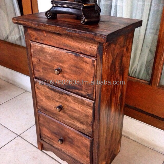 Rustic Drawer Console