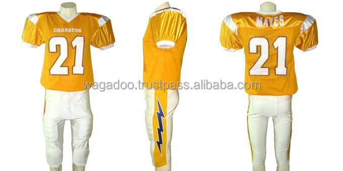 Dealer of Custom American Football Sports Team Uniform