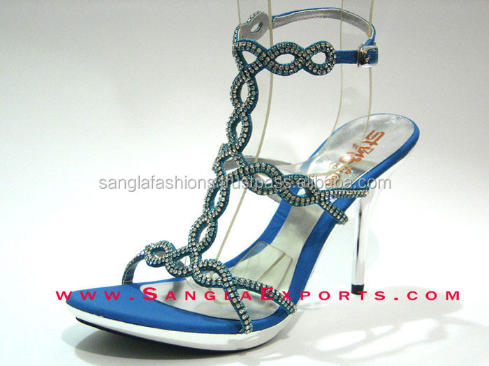 Wholesale pakistan ladies fashion high heel shoes