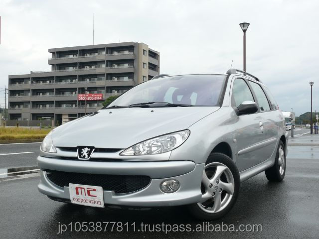 Popular damaged cars for sale in japan $0-1500 Peugeot SW XS 2003 used car at reasonable prices