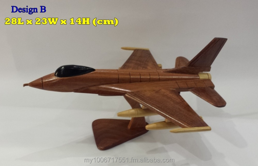 WOODEN FIGHTER JET