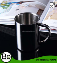 Stainless Steel Coffee Water Insulation Cups Camping Mugs For Outdoor Travel Double Deck Anti-Scald 304