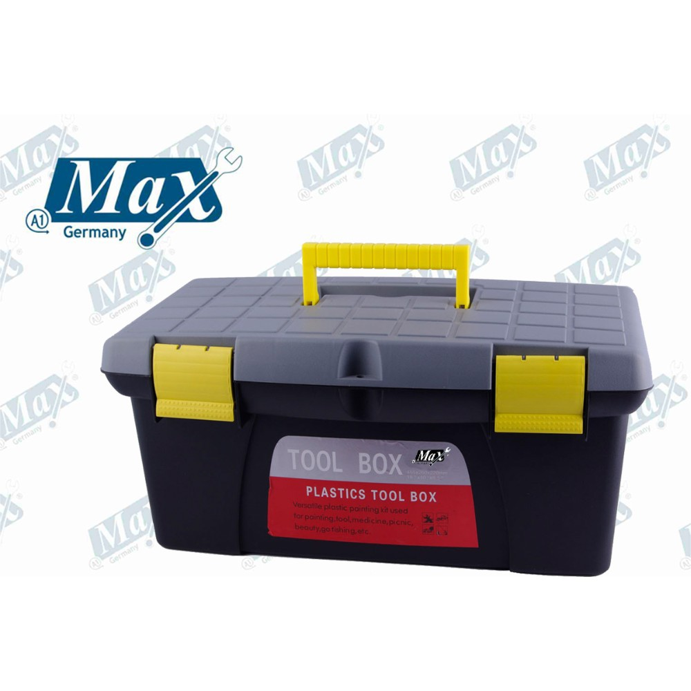 Portable Plastic Tool Box 14""