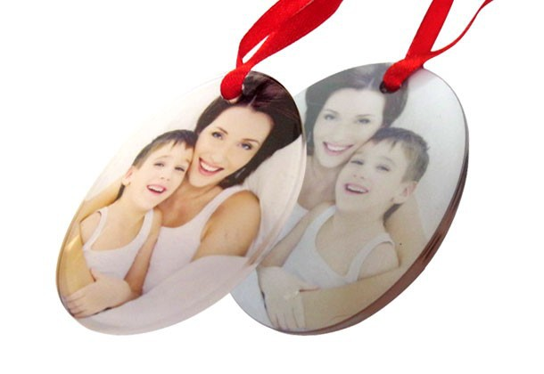 Acrylic -- Sublimation Blank Christmas Ornament / Decorations
