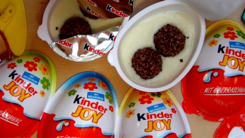 kinder joy chocolate egg 20g
