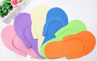 Disposable EVA Printed Slipper For Spa And Hotel