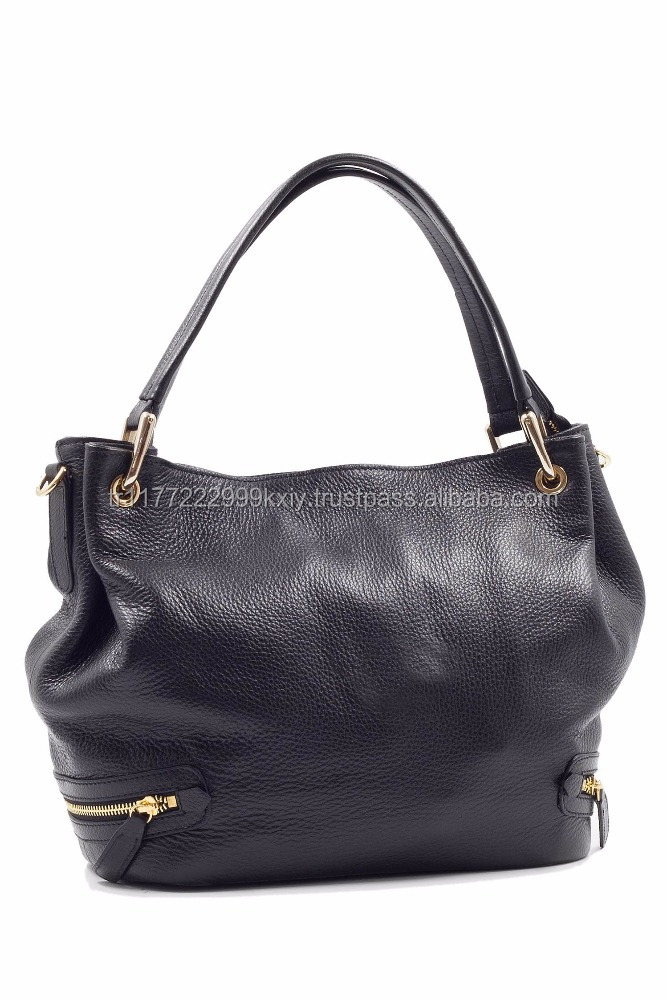 Genuine Leather High Quality Trend Women Handbag 2017 With Your Brand Name