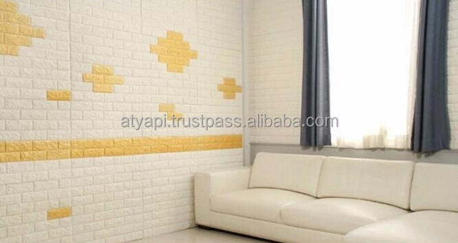 Peel and Stick 3D Wall Panels for Interior Wall Decor Foam Brick