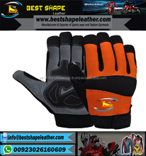 Custom Leather Craft Mechanics Gloves Industrial Mechanics Gloves Hand Safety Gloves