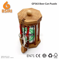 Dont Break The Beer Can Wooden Puzzles Adults Creatology Puzzle