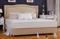 "8"" FULL SIZE COOLING GEL MEMORY FOAM MATTRESS WITH SOLID WOOD AND LARGE SPACE"