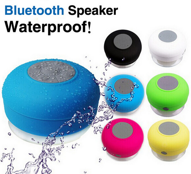 cheap waterproof plastic round subwoofer wireless bluetooth speaker for home theatres
