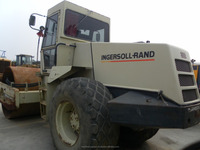 Used Single Drum Compactor, Used Ingersoll Rand SD150D Roller Compactor