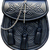 Superior Cowhide Leather Embossed Celtic Design