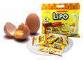 Cream cookie Lipo in bag 300g - Crunchy and sweet biscuits from Vietnam