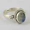 In The Cloud White !! Rainbow Moonstone 925 Sterling Silver Ring, Indian Silver Jewelry Online, Silver Jewelry New Arrivals