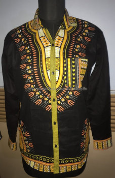 NEW FULL SLEEVE WITH CUFF DASHIKI SHIRT FOR MEN